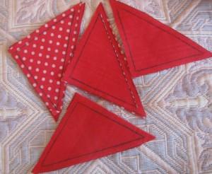 Прямоугольные треугольники для пэчворка